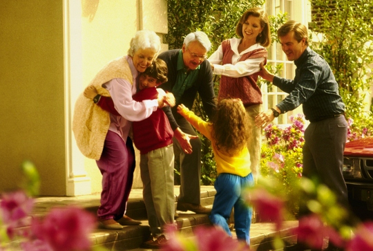 День бабушек и дедушек