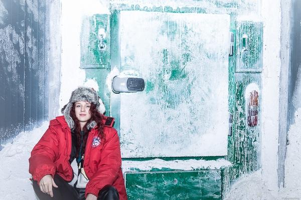 """комната квеста """"Арктическая станция"""" с минусовой температурой"""