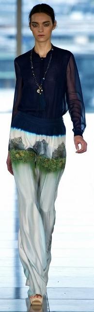 Весенние и летние брюки для женщин 2013