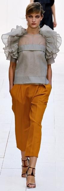 Chloe брюки женские весна лето 2013