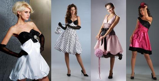 выпускные платья 60х годов.