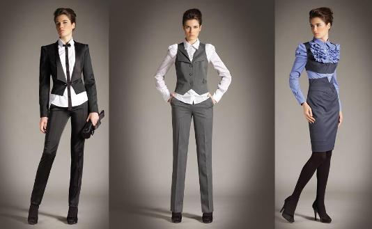Комментарий: офисный стиль одежды для девушек.